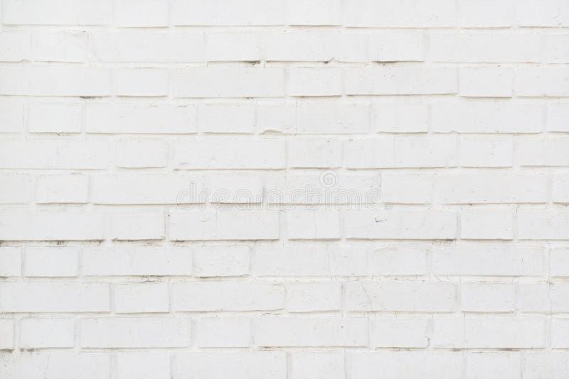 Textura branca da parede de tijolo como o fundo fotos de stock