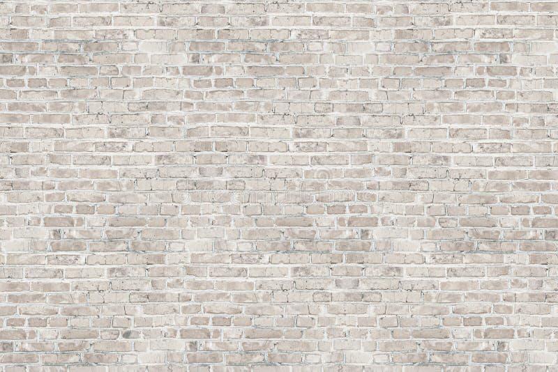 Textura branca da parede de tijolo da lavagem para o projeto imagem de stock