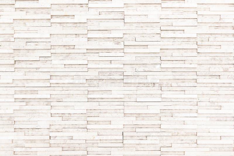 Textura branca da parede de tijolo usada para fazer o fundo apropriado para a casa interior e exterior imagens de stock