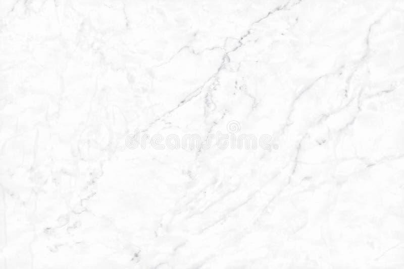Textura branca da parede do mármore do fundo para o trabalho de arte do projeto, o teste padrão sem emenda da pedra da telha com  imagem de stock royalty free