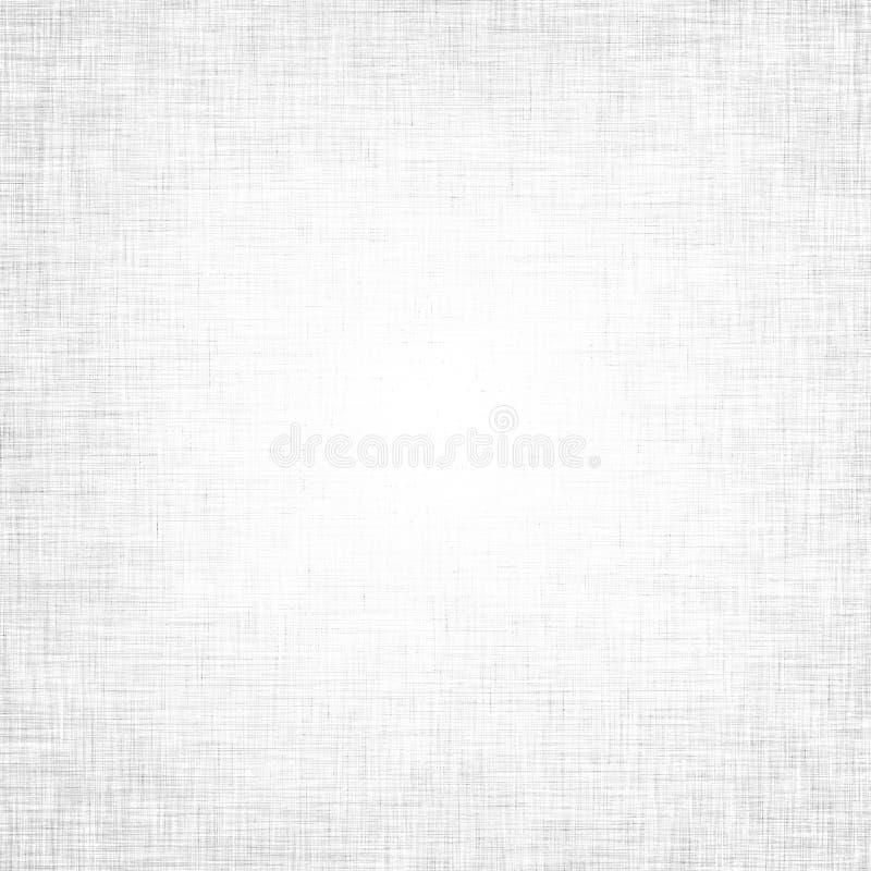 Textura branca da tela com a grade delicada a usar-se como o fundo imagens de stock