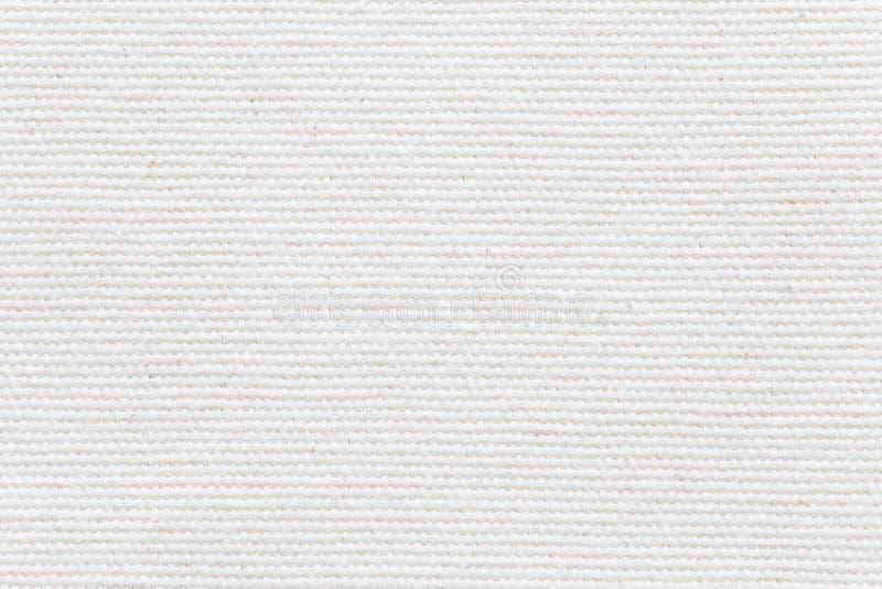 Textura branca da tela e fundo sem emenda fotografia de stock royalty free