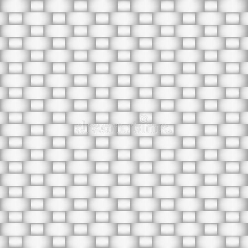 Matéria têxtil branca ilustração stock