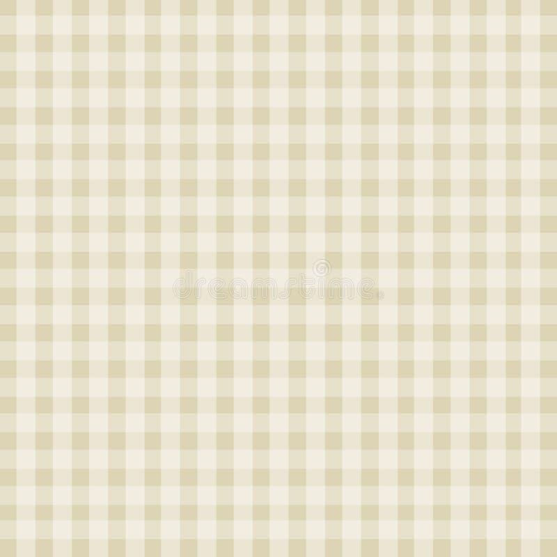 Textura branca das listras do fundo bege abstrato da cor ilustração stock