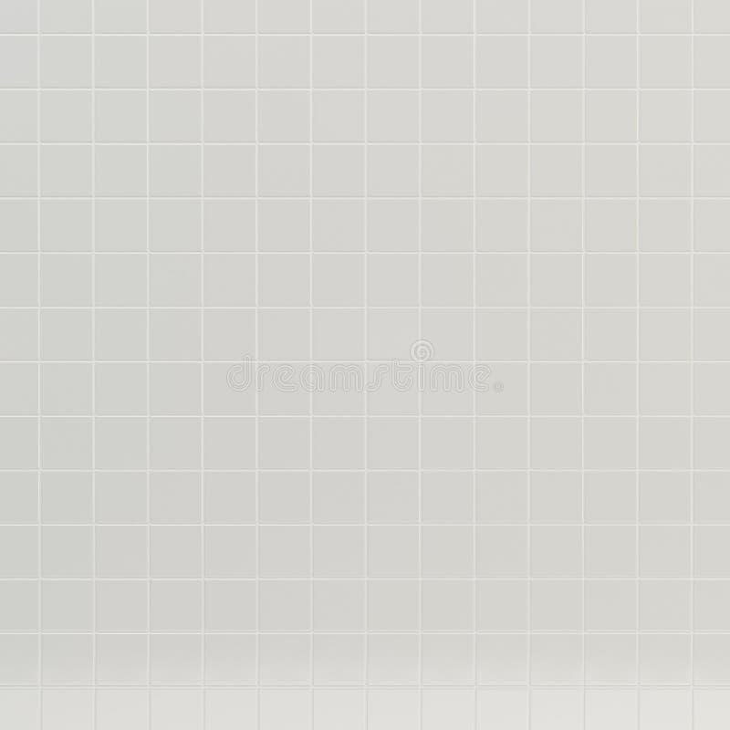 Textura branca das telhas imagem de stock