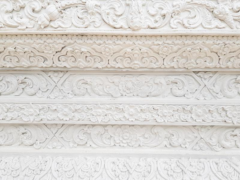 Textura branca do fundo da parede do templo da arquitetura da arte fotos de stock royalty free