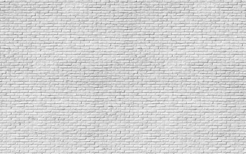 Textura branca do tijolo fotos de stock royalty free