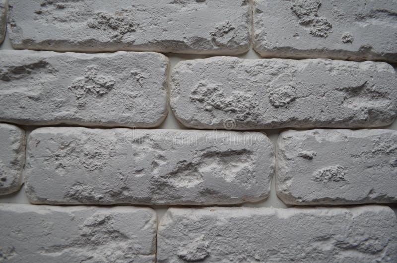 Textura branca do tijolo wallpaper fotografia de stock royalty free