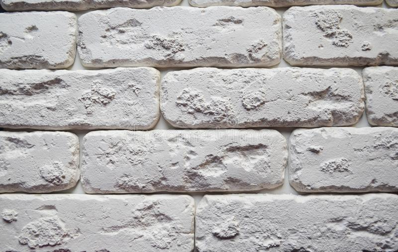 Textura branca do tijolo wallpaper imagem de stock