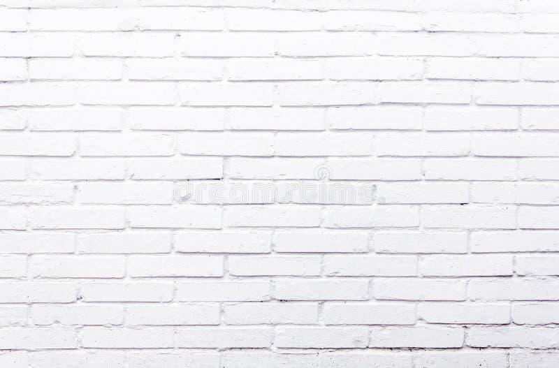 Textura branca dos tijolos fotos de stock royalty free