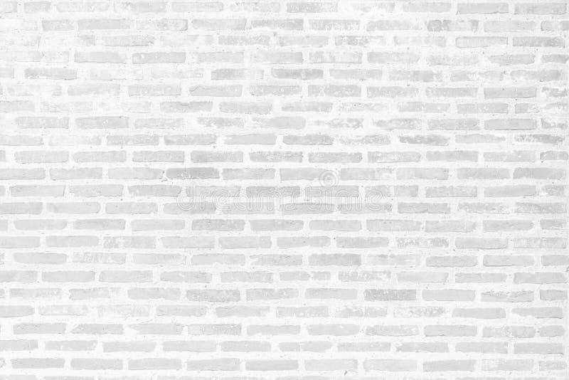 Textura branca moderna da parede de tijolo para o fundo fotos de stock