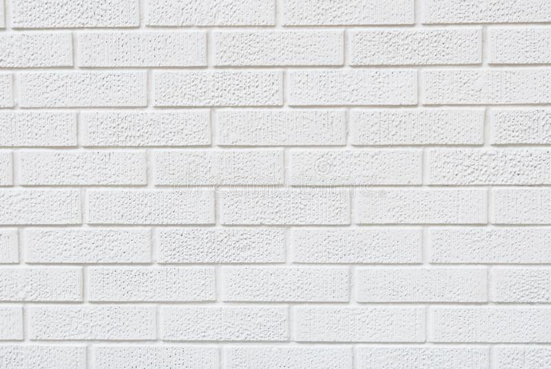 Textura branca moderna da parede de tijolo para o fundo imagens de stock royalty free