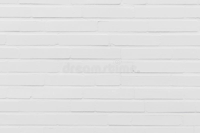 Textura branca moderna do fundo da parede de tijolo imagem de stock