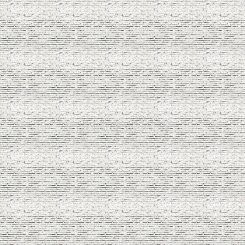 Textura branca sem emenda do tijolo ilustração do vetor
