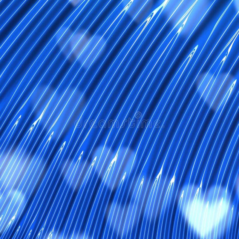 Textura brillante azul real del corazón del amor stock de ilustración