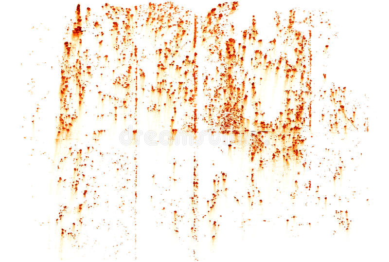 Textura brillante de las manchas del moho aislada en blanco imágenes de archivo libres de regalías
