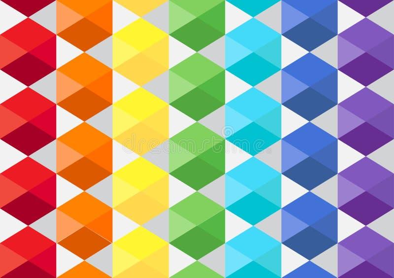 Textura cúbica do arco-íris imagens de stock royalty free