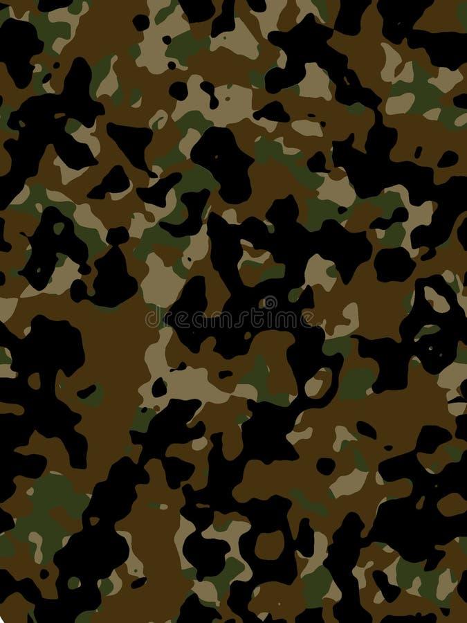 Textura camuflar ilustração do vetor