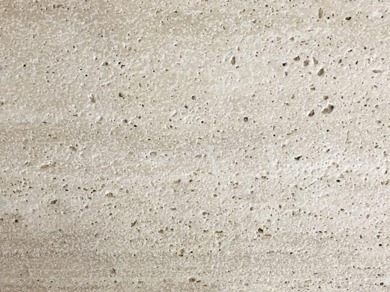 Textura cepillada pulida con chorro de arena travertino imagen de archivo libre de regalías