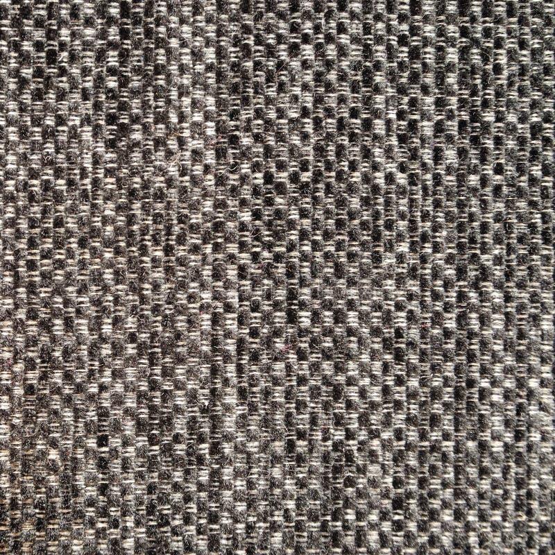 Textura cinzenta da mistura de lã fotografia de stock