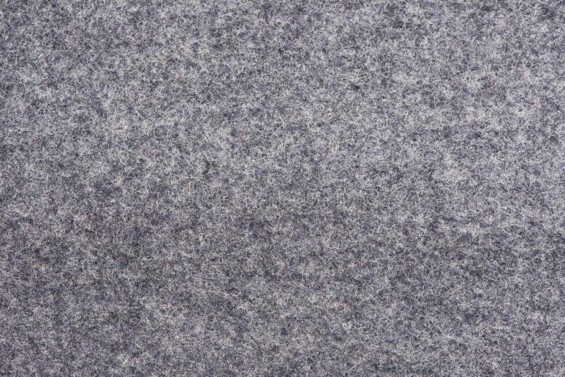Textura cinzenta de lãs fotografia de stock