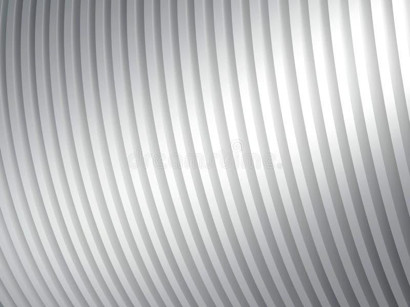 Textura cinzenta do metal. ilustração royalty free