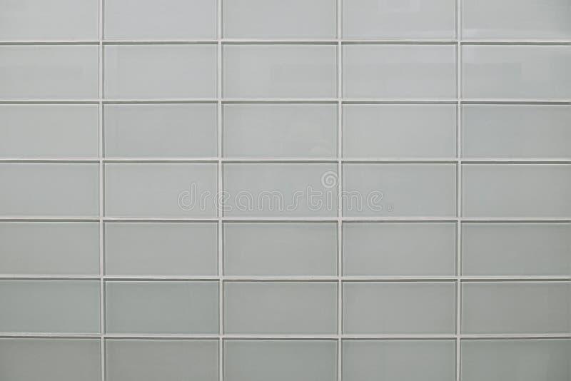 Textura cinzenta moderna do fundo da parede de tijolo de vidro foto de stock
