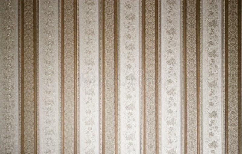 Textura clássica do papel de parede foto de stock royalty free