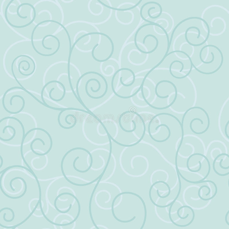 Textura clara sem emenda do vetor com redemoinhos ilustração stock