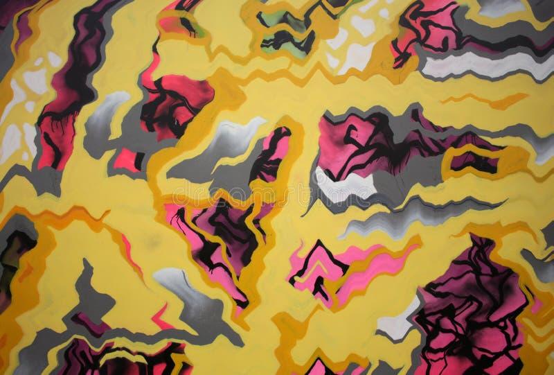 Textura colorida abstrata ilustração do vetor