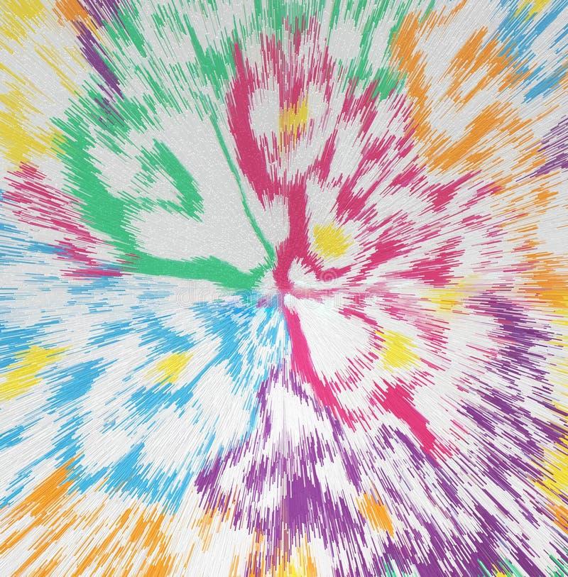 Textura colorida abstrata ilustração royalty free