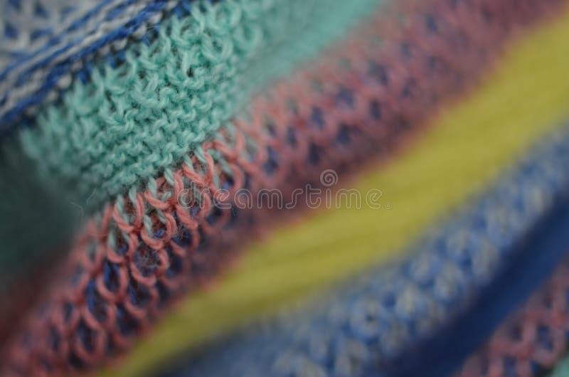 Textura colorida bonita da matéria têxtil fotografia de stock