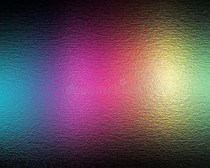 Textura colorida da folha de prata fotografia de stock royalty free