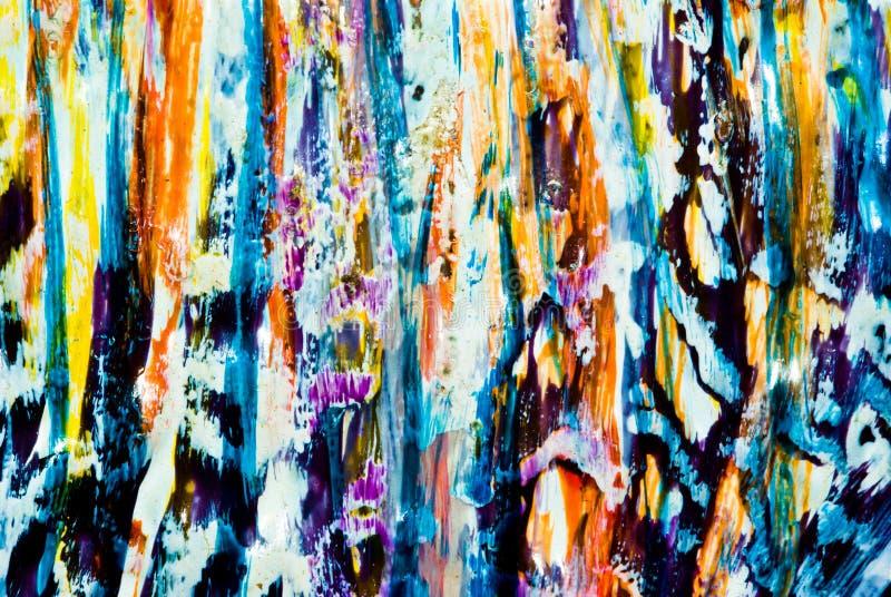 Textura colorida da pintura fotos de stock royalty free