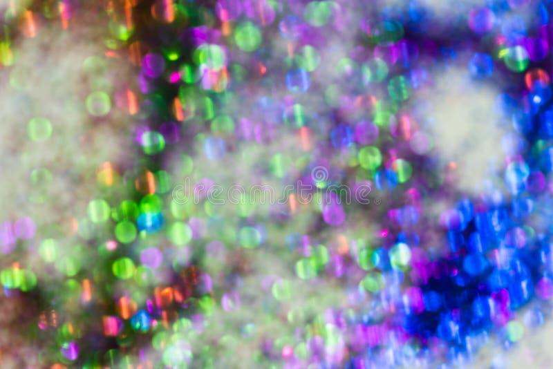 Textura colorido da poeira de diamante do borrão fotografia de stock royalty free