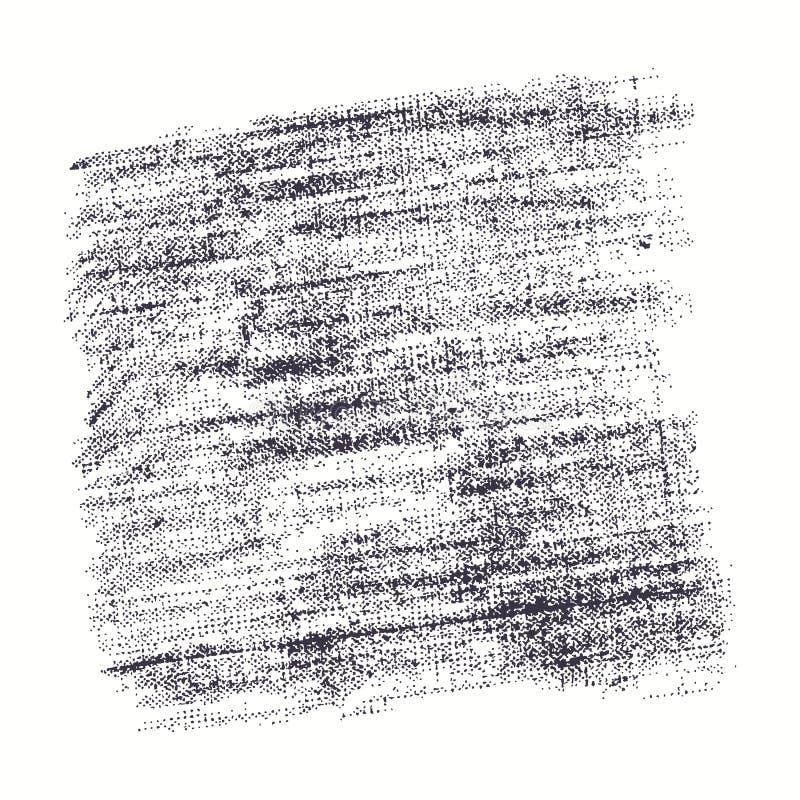 Textura común del vector de la arpillera stock de ilustración