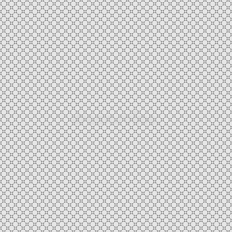 textura con estilo moderna Repetición del fondo de los círculos imagenes de archivo