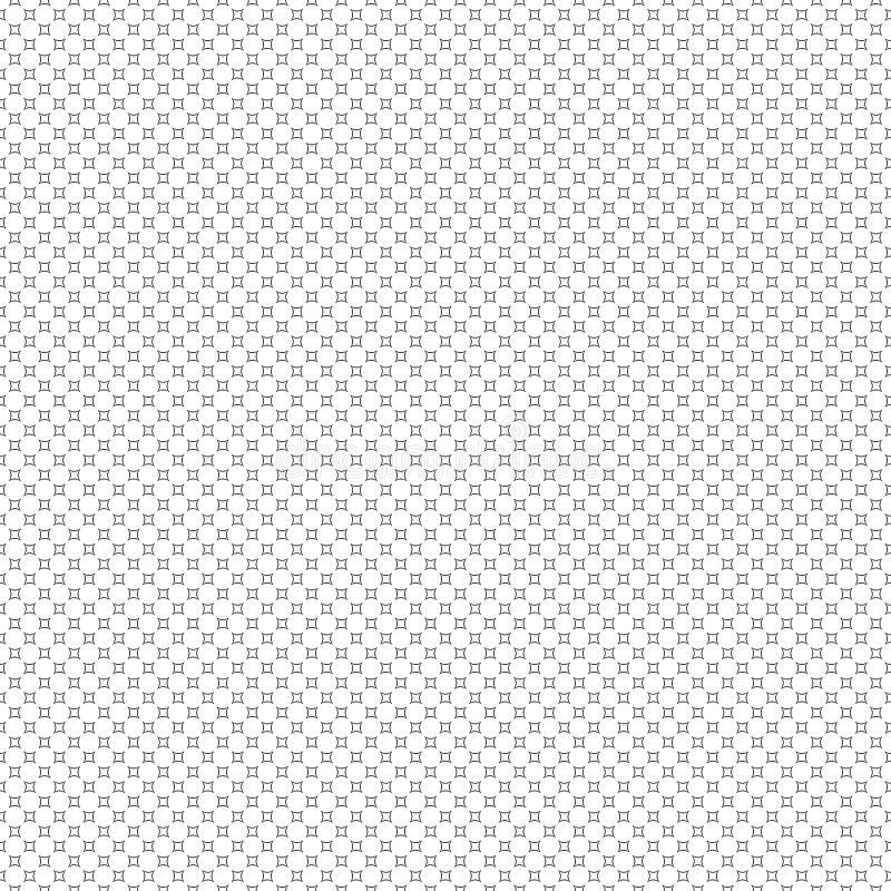textura con estilo moderna Repetición del fondo de los círculos A inconsútil imagen de archivo