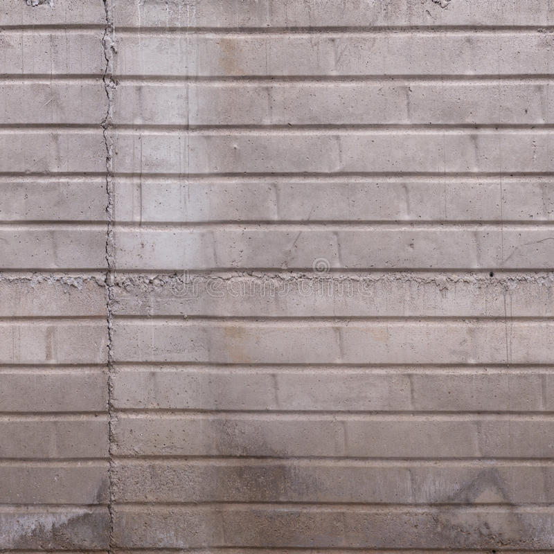 Textura concreta dos tijolos foto de stock royalty free
