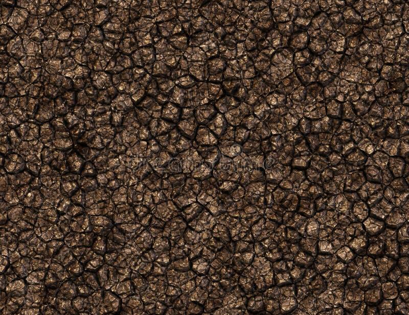 Textura contínua com muitas pedras marrons foto de stock royalty free