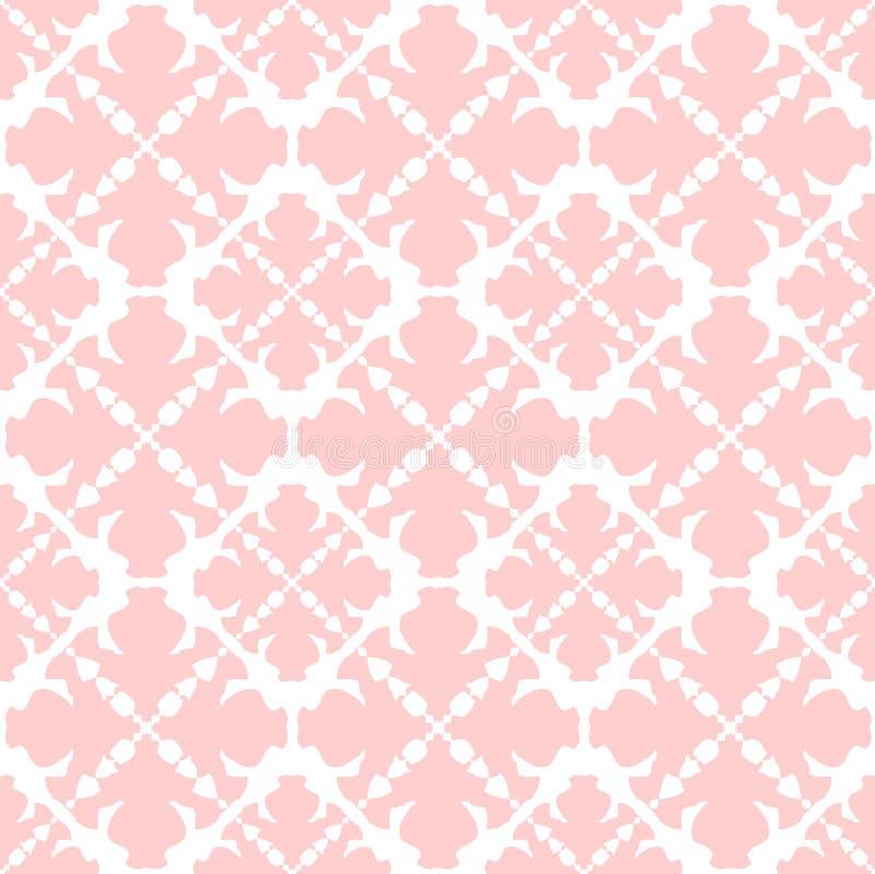 Textura cor-de-rosa ilustração do vetor