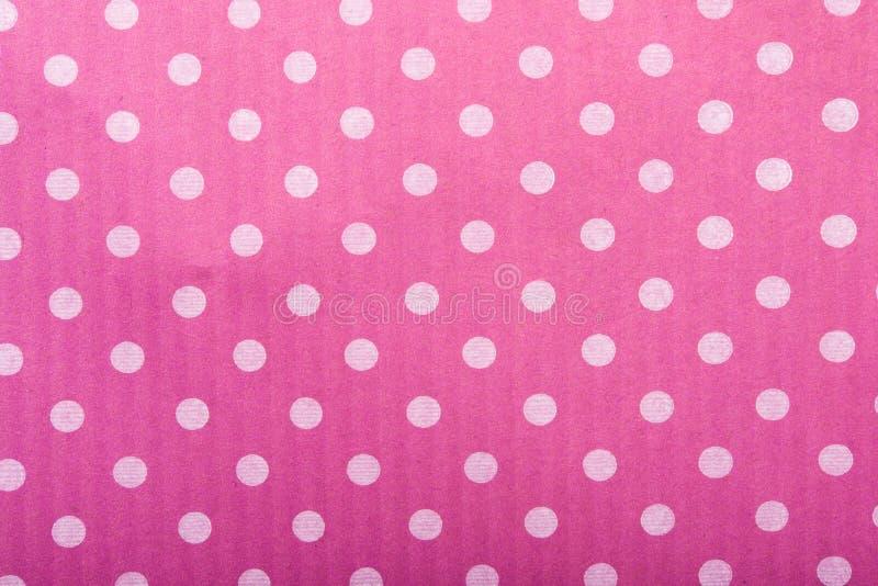 Textura cor-de-rosa com círculos fotografia de stock royalty free