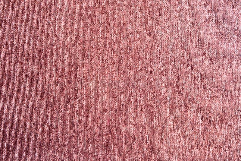 Textura cor-de-rosa do fluff de pano do tapete vermelho fotos de stock royalty free