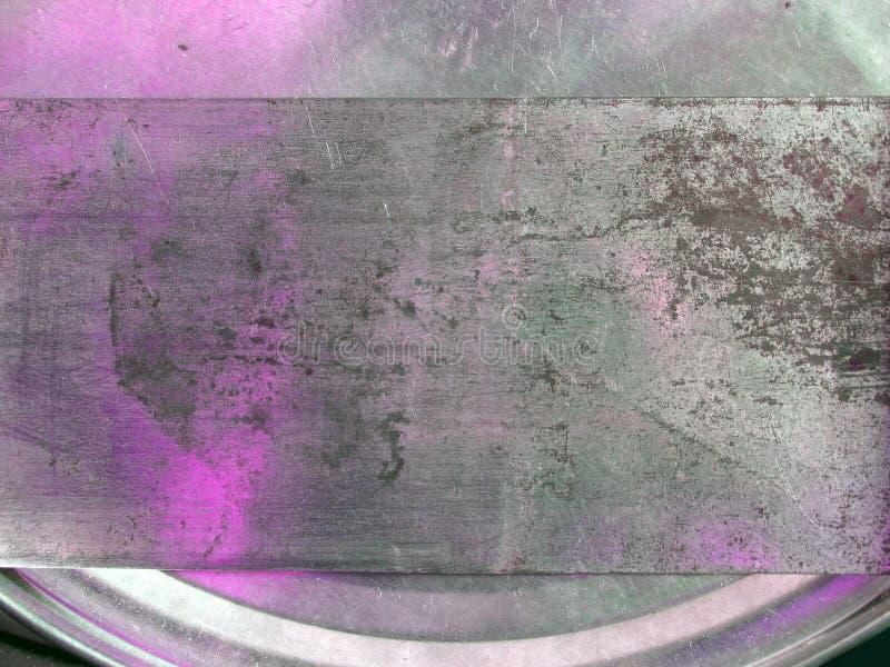 Textura Cor-de-rosa Do Metal Imagem de Stock Royalty Free