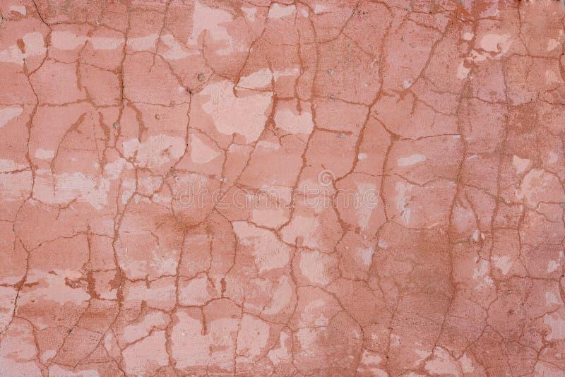 Textura - crackle cor-de-rosa fotos de stock royalty free