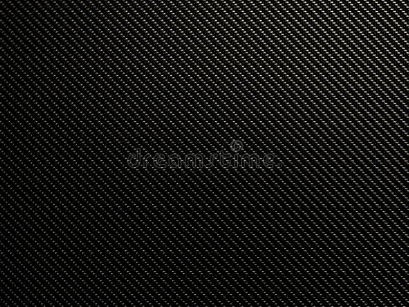 Textura CRUA da fibra do carbono ilustração royalty free