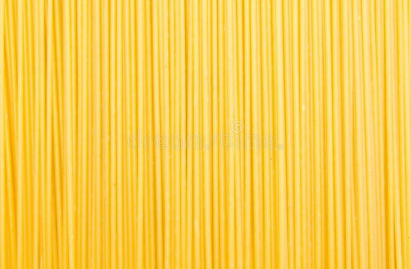 Textura crua do fundo do alimento dos espaguetes italianos imagens de stock royalty free