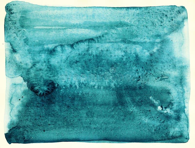 Textura da aquarela. ilustração do vetor