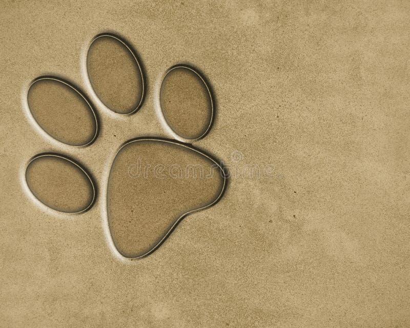 Textura da areia ilustração do vetor