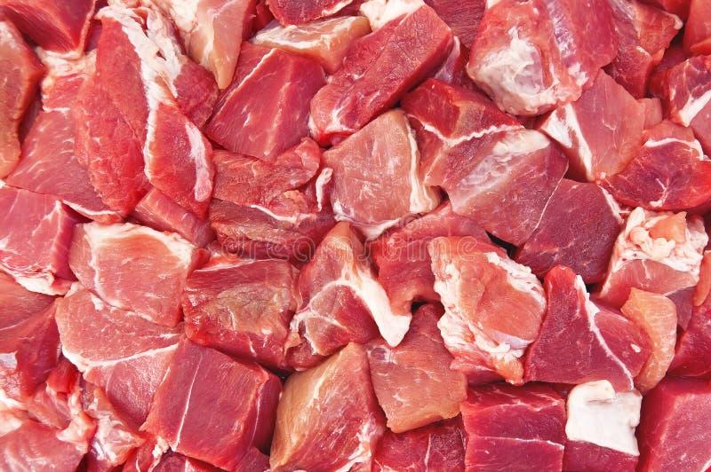 A textura da carne fotos de stock